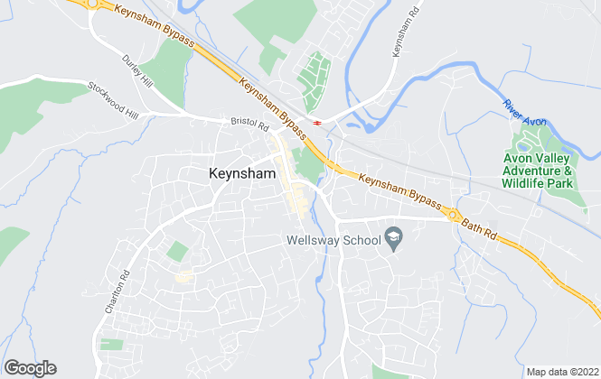 Map for Gregorys Estate Agent, Keynsham