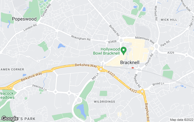 Map for Page Hardy Harris Ltd, Bracknell
