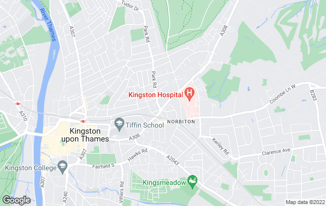 Map for Carringtons, Kingston Hill