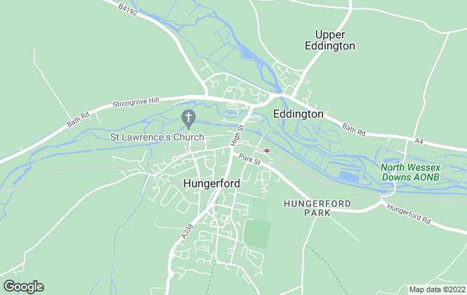 Map for Nye & Co , Hungerford