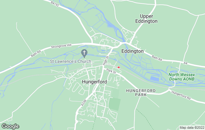 Map for Russell Marshall, Hungerford
