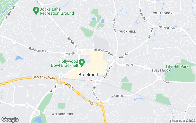 Map for Sears Property, Bracknell - Select Quality Homes