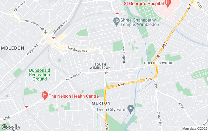 Map for Martin & Co, Wimbledon - Lettings & Sales