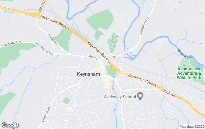 Map for Davies & Way, Keynsham
