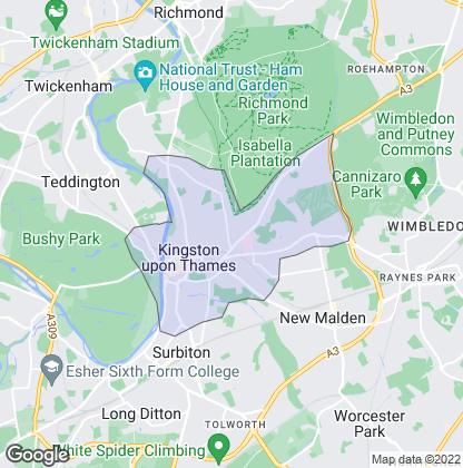 Map of property in Kingston Upon Thames