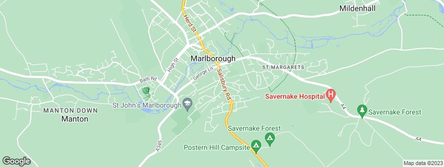 Map for Beechcroft Developments