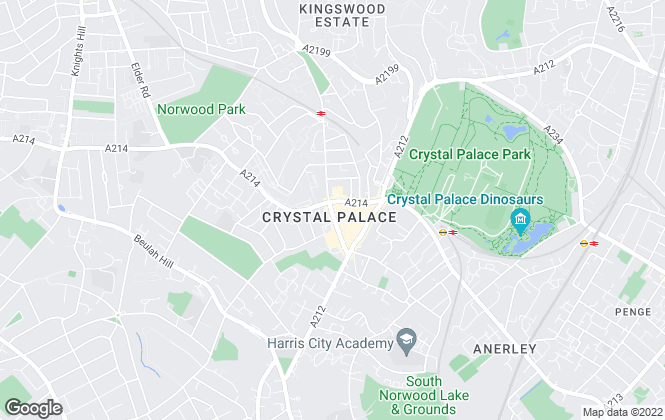 Map for Your Move , Crystal Palace