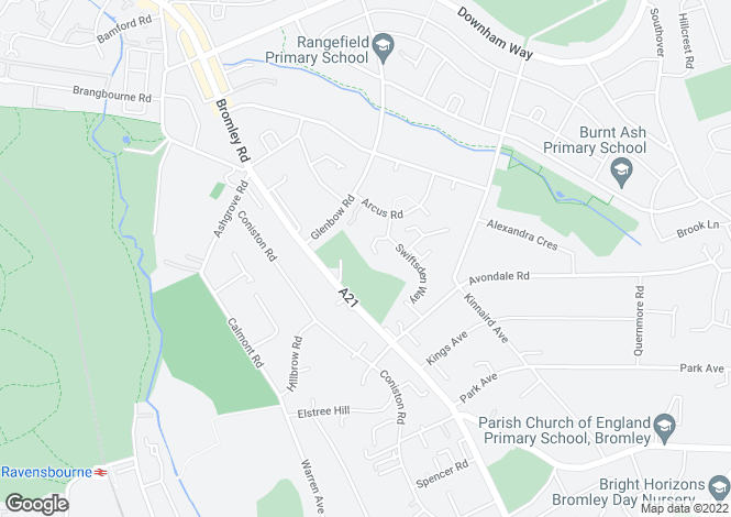 Map for Chingley Close, Bromley