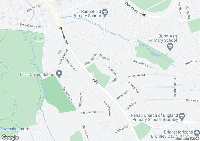 Map for Chingley Close, Bromley, Kent, BR1
