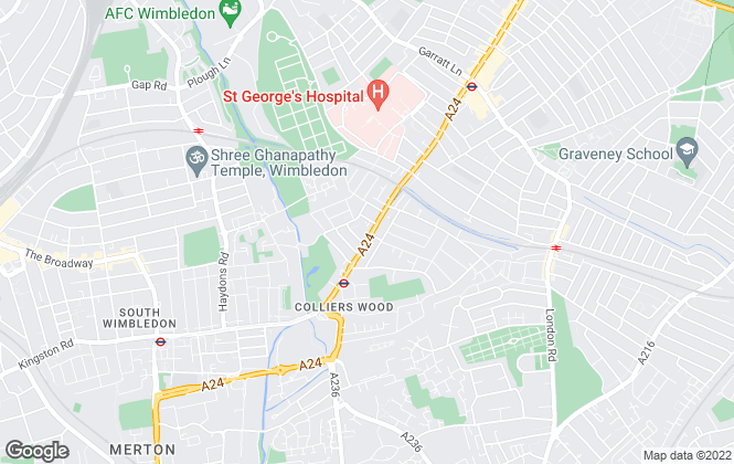 Map for Gibbs Estate Agent, South West London