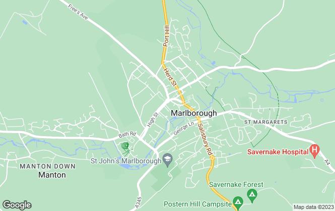 Map for Hamptons Sales, Marlborough