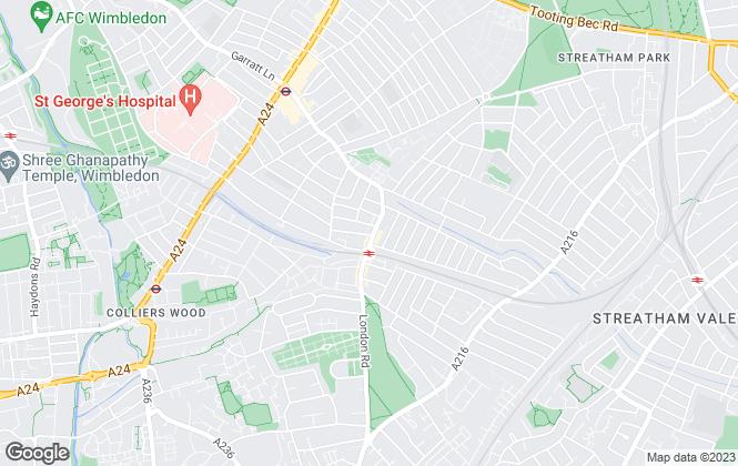 Map for Next Step Estates (South West) Ltd, London