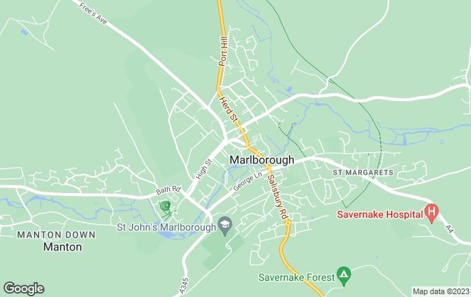 Map for Beeline Properties Ltd, Summerdown & Partnerts Ltd
