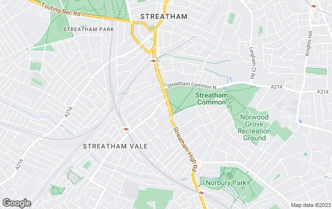Map for Samuel Estates, Streatham