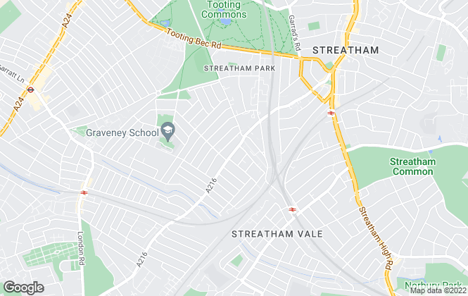 Map for Barnard Marcus, Streatham