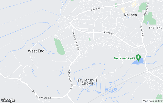 Map for Gino's Estate Agents, Nailsea