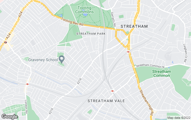 Map for Beresford Residential, Streatham - Sales