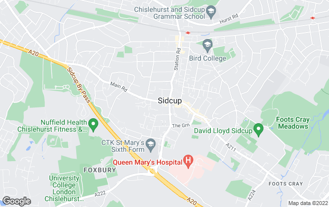 Map for YOUR MOVE Petty Freeman , Sidcup
