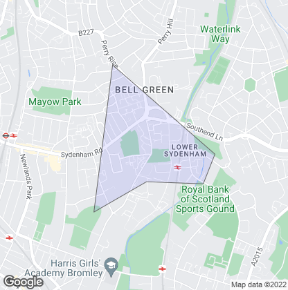 Map of property in Lower Sydenham