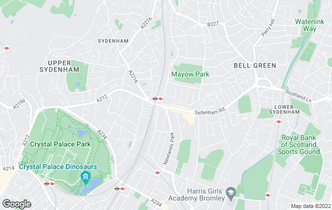 Map for Uniplan, Sydenham