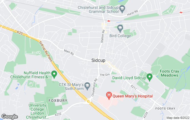 Map for Village Estates, Sidcup - Lettings