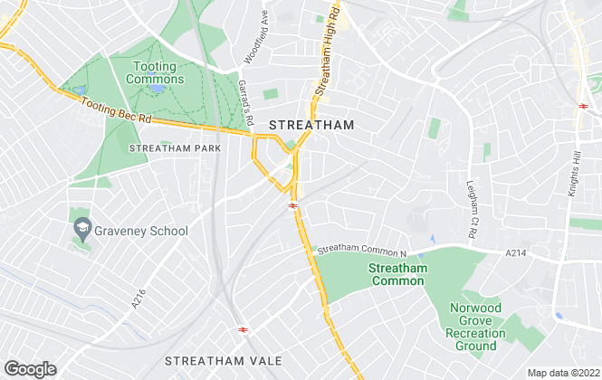 Map for Douglas & Gordon, Streatham