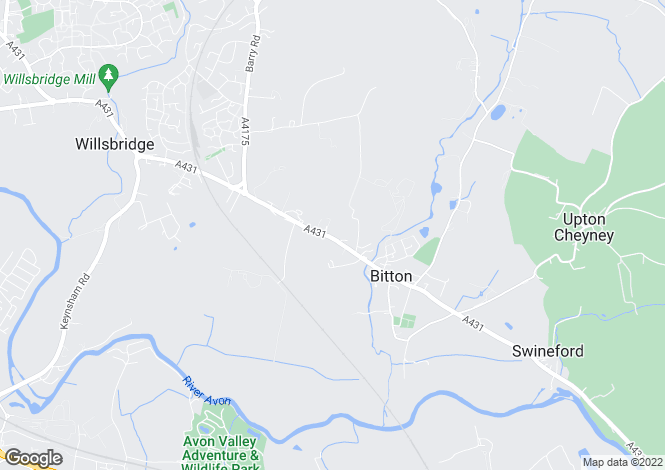 Map for Bath Road, Bitton, Bristol, Gloucestershire, BS30