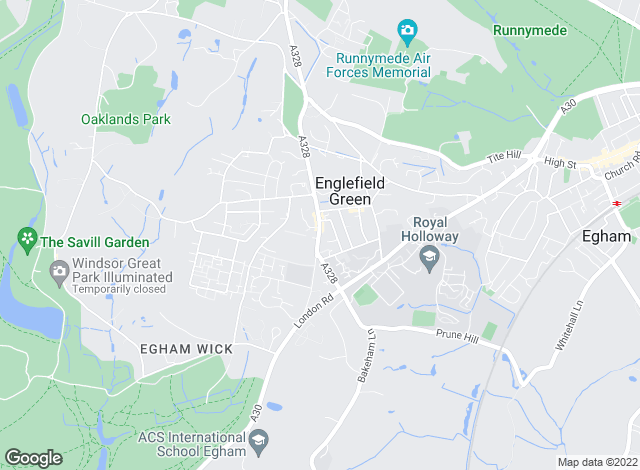 Map for Townends, Englefield Green - Lettings