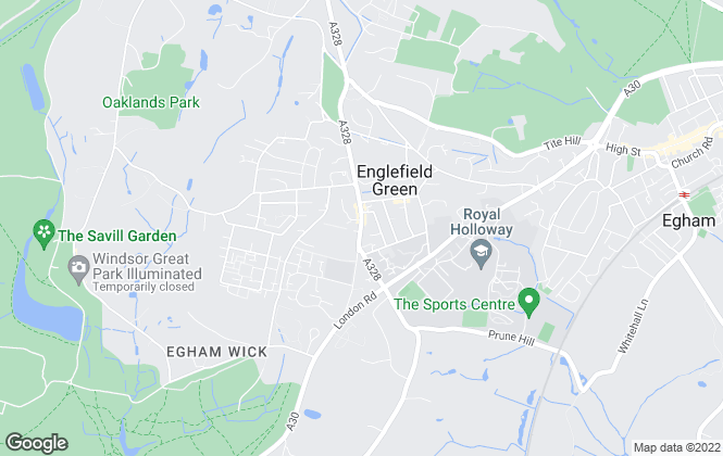 Map for Townends, Englefield Green