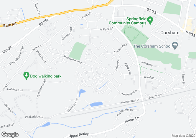 Map for Buckthorn Row,
