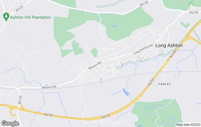 Map for Andrews Estate Agents, Long Ashton
