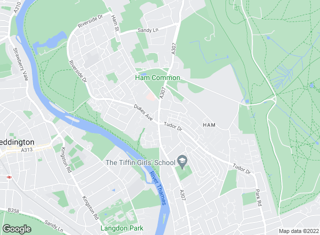 Map for Lords Estate Agents , Ham