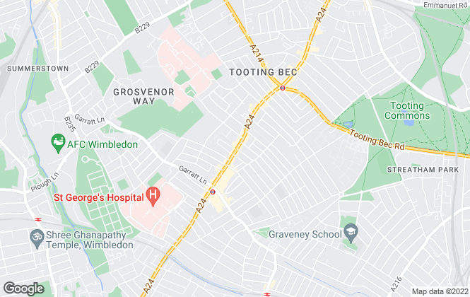 Map for Residenza Properties Ltd, London