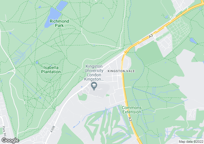 Map for Ullswater Crescent, Kingston Vale