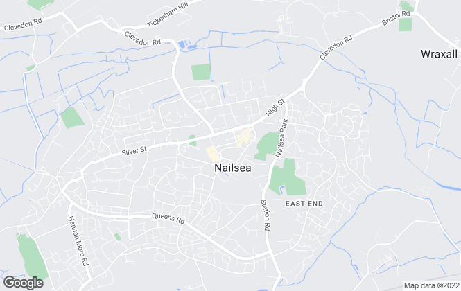 Map for West Coast Properties, Nailsea