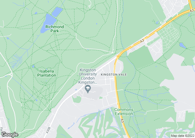 Map for Constance Close, Kingston Vale, London, SW15