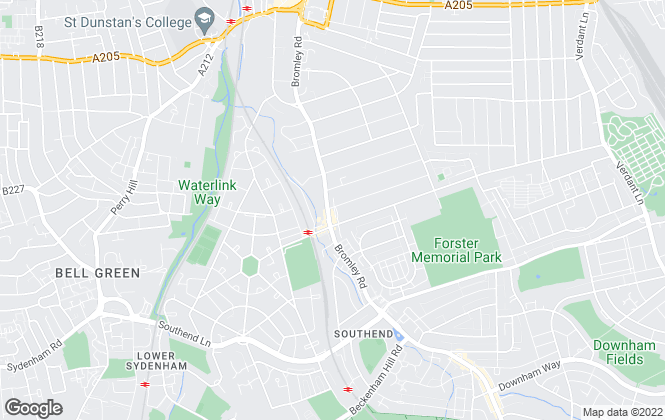 Map for John Alan Estate Agents, Catford
