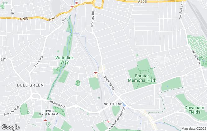 Map for John Alan Estate Agents, Catford