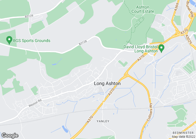 Map for Long Ashton