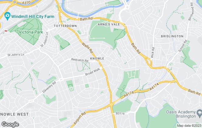 Map for Matthewsestates.co.uk , Knowle