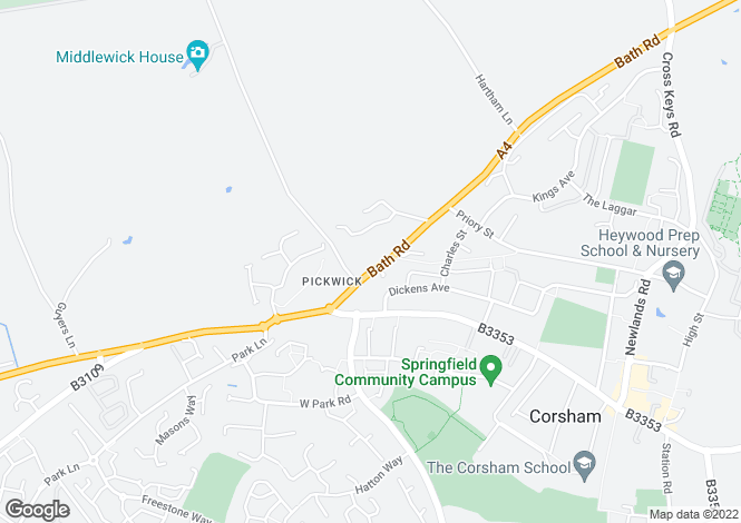 Map for Pickwick,