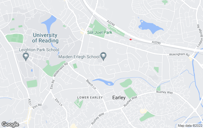 Map for Martin & Pole, Earley