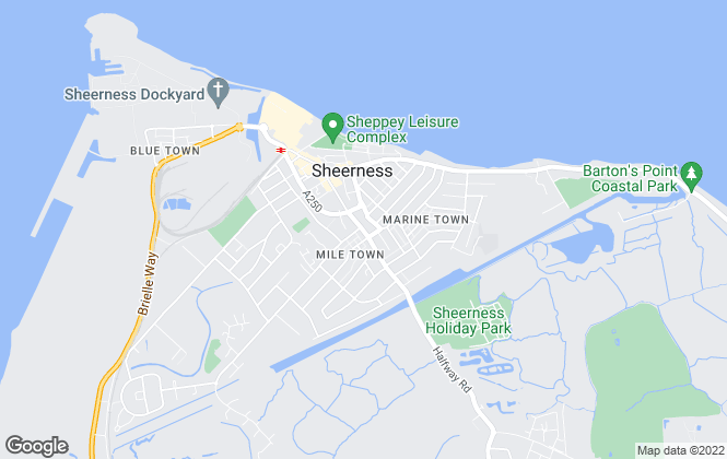 Map for House, Sheerness