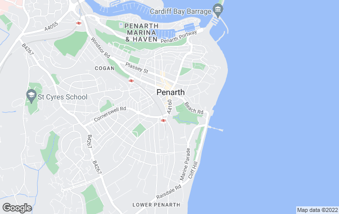 Map for Watts & Morgan, Penarth - Lettings