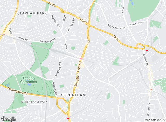 Map for Kinleigh Folkard & Hayward - Sales, Streatham