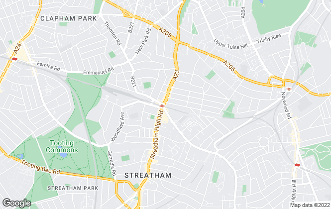 Map for Dexters, Streatham