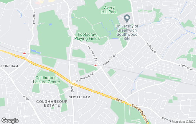 Map for Irwin Scott, New Eltham - Lettings