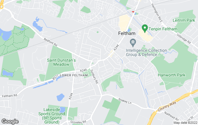 Map for The Frost Partnership, Feltham