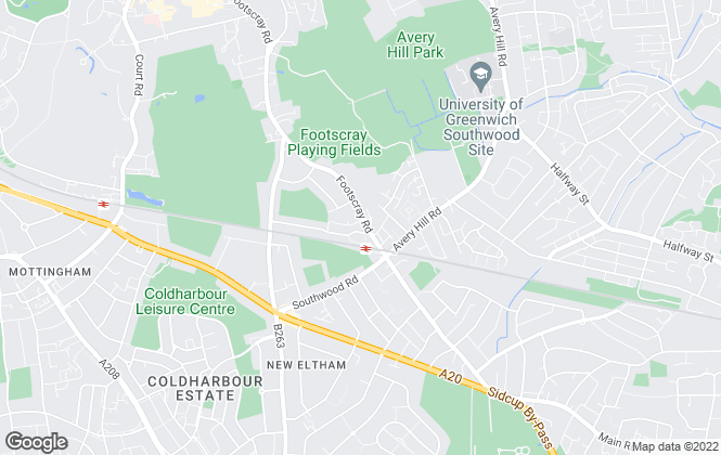 Map for Cockburn Estate Agents, New Eltham- Lettings