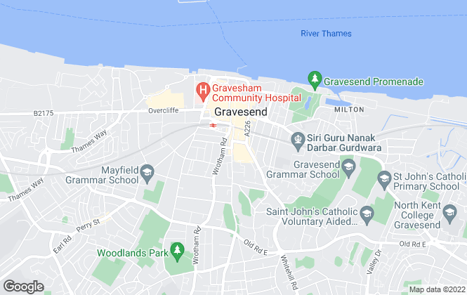Map for Orange Property Services, Gravesend